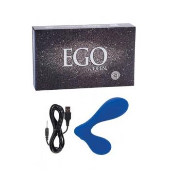 Estimulador Próstata Recarregável Ego E4 Azul