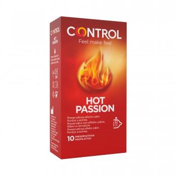 Preservativos Control Efeito Calor HOT PASSION 10 Uni