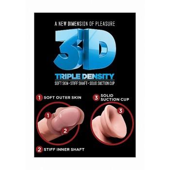 7 Triple Density Cock - Flesh