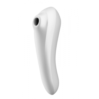 Estimulador Clitoris SATISFYER - Pulsador de ar Dual Pleasure Branco