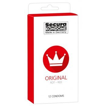 Preservativos Vermelhos Secura Red 12uni