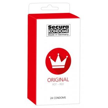 Preservativos Vermelhos Secura Red 24uni