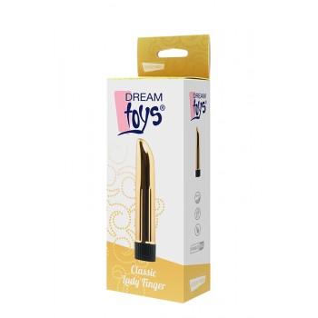 Vibrador Clássico Lady Finger Dream Toys Dourado