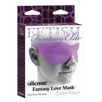 Venda Silicone Elite Love Mask Roxo