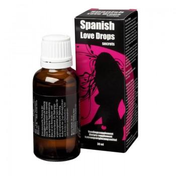 Afrodisiaco Spanish Love Drops Secrets 30ml