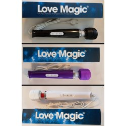 Estimulador Love Magic Wand 20Velocidades 220V Cores Diversas