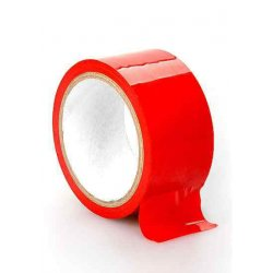 Non Sticky Bondage Tape Vermelha - OUBT001RED (Ouch!) BDSM, Diversos