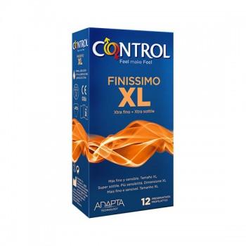 Caixa 12 Preservativos Finissimo XL Control