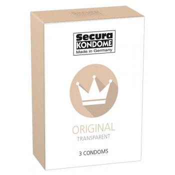 Caixa 3 Preservativos Secura Original