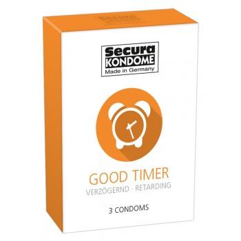 Caixa 3 Preservativos Secura Retardante Good Timer