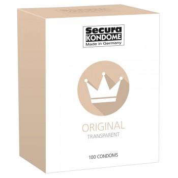 Caixa Preservativos Secura Original 100 uni
